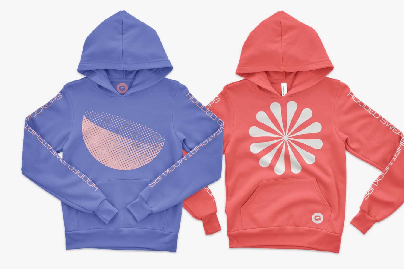 Bella Canvas Youth Pullover Mockups