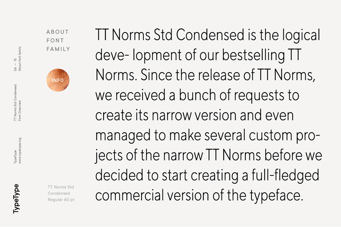 TT Norms Std Condensed