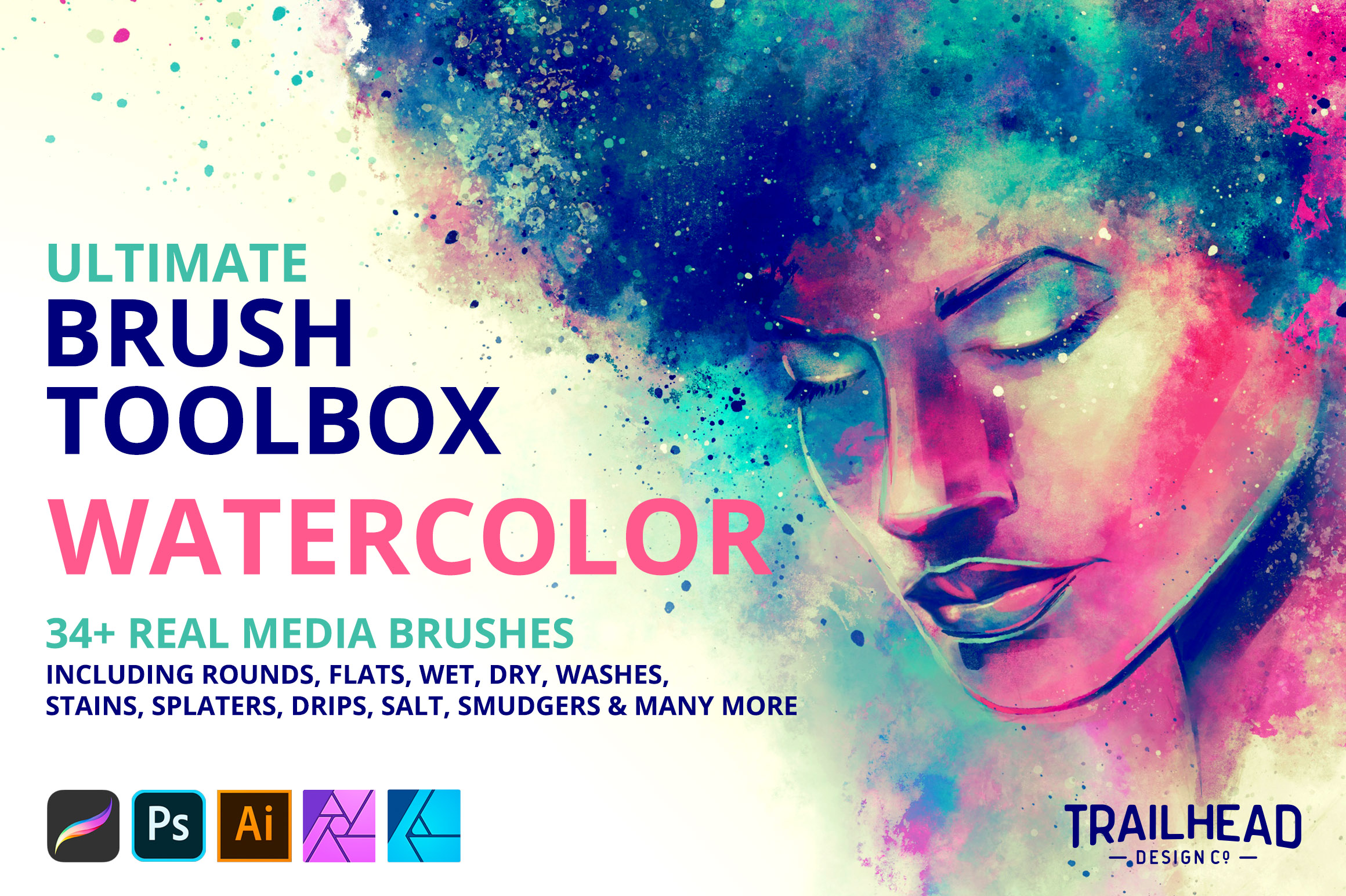 Ultimate Brush Toolbox - Watercolor