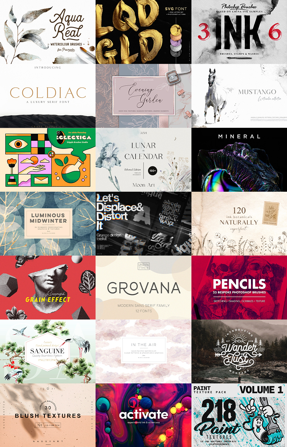 The Amazing Designer's Complete Artistic Library