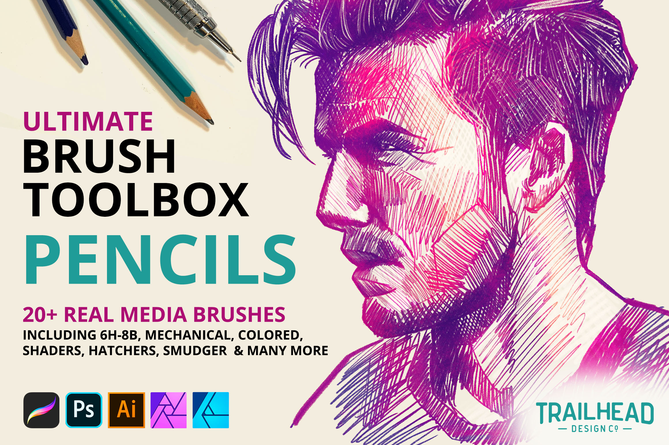 Ultimate Brush Toolbox - Pencils
