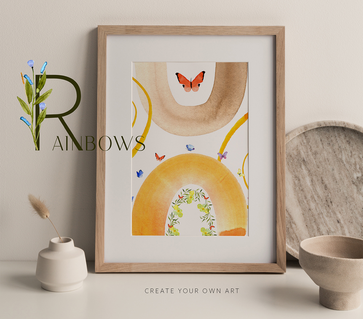 Wildflowers Watercolor Collection