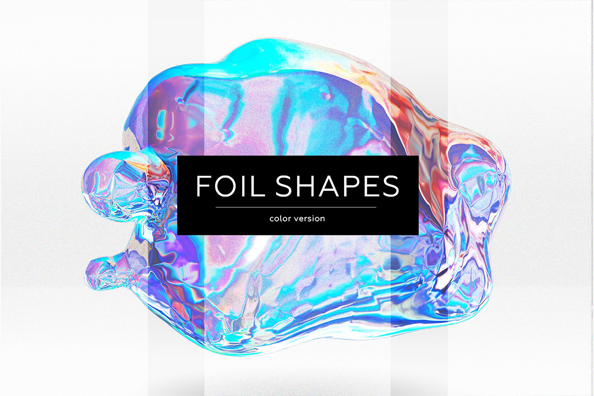 Foil Shapes and Textures