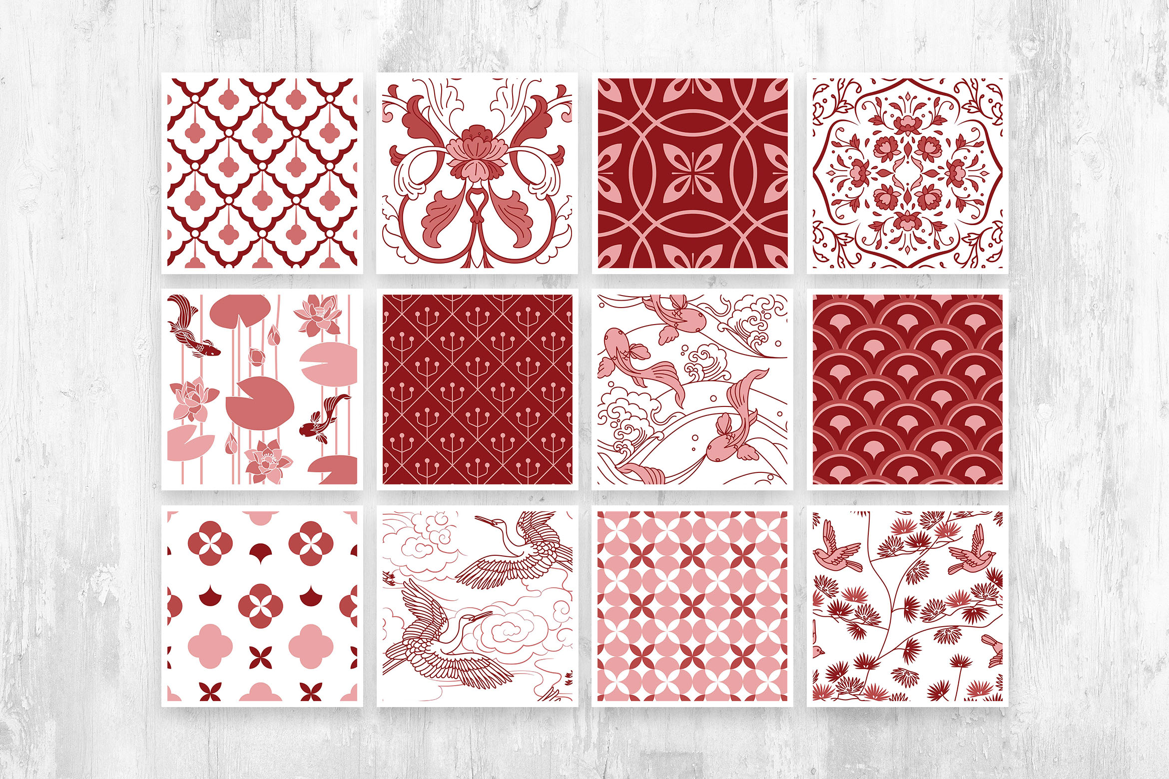 Japan: The Gigantic Textures and Patterns Collection