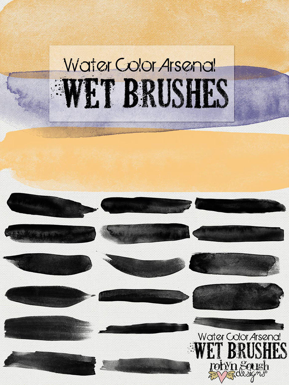 Beautifully Artistic Brushes Bundle (1000+ Brushes & Extras) - Design Cuts
