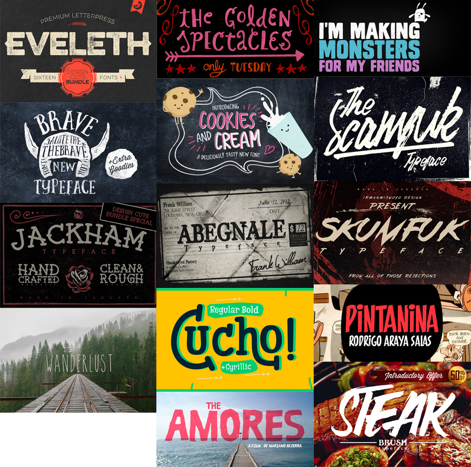 Massive Creative Font Bundle