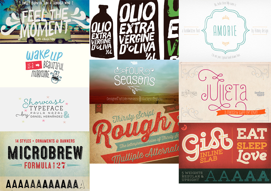 Monster Creative Font Bundle
