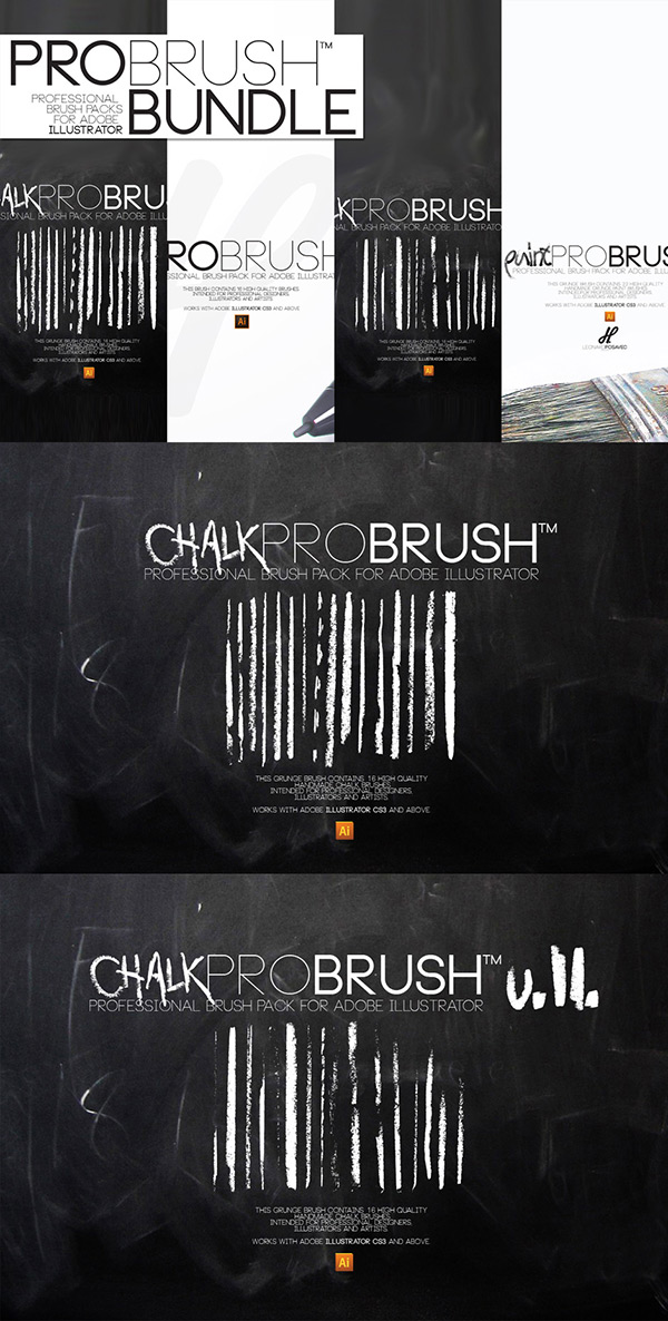 Beautifully artistic brushes bundle demo tutorial