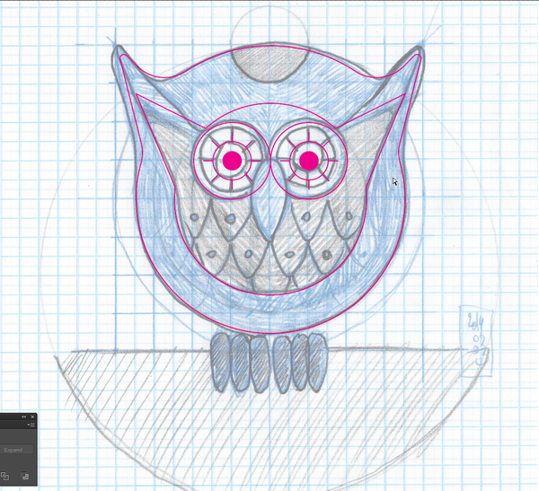 Owl design and texturing tutorial
