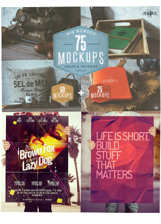 Ultimate Mockup Templates Bundle
