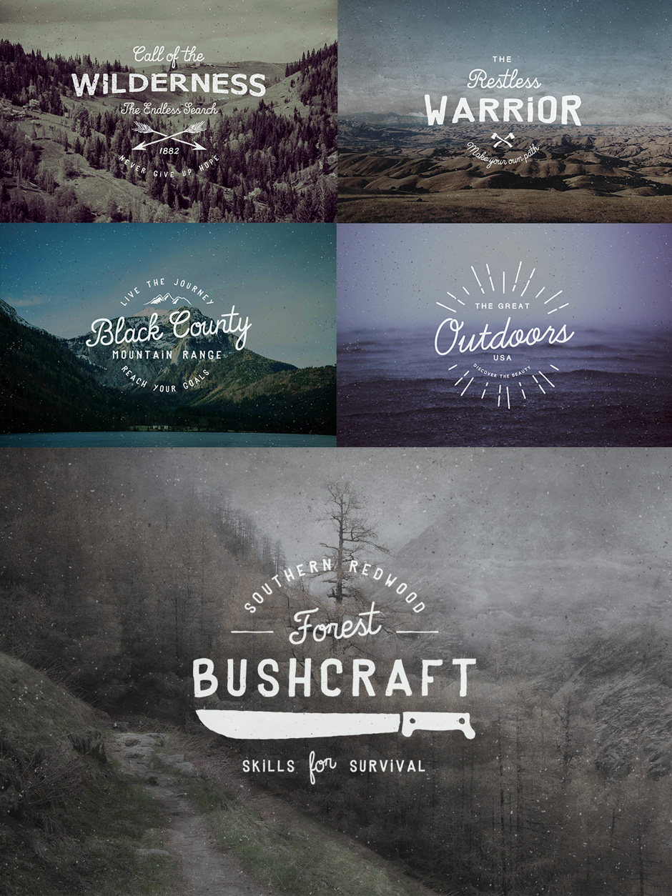 Vintage Retro Design Bundle