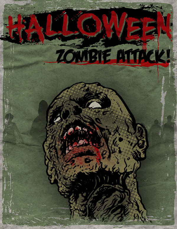 Zombie Poster Tutorial
